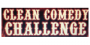 Clean comedy logo clean comedy challenge