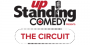 Clean comedy logo up standing comedy the circuit